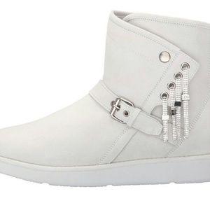 UGG White Karisa Boots NEW